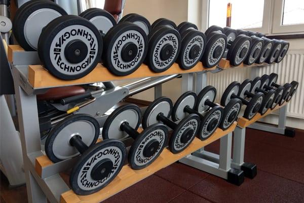 Fitness-Studio Hanteln