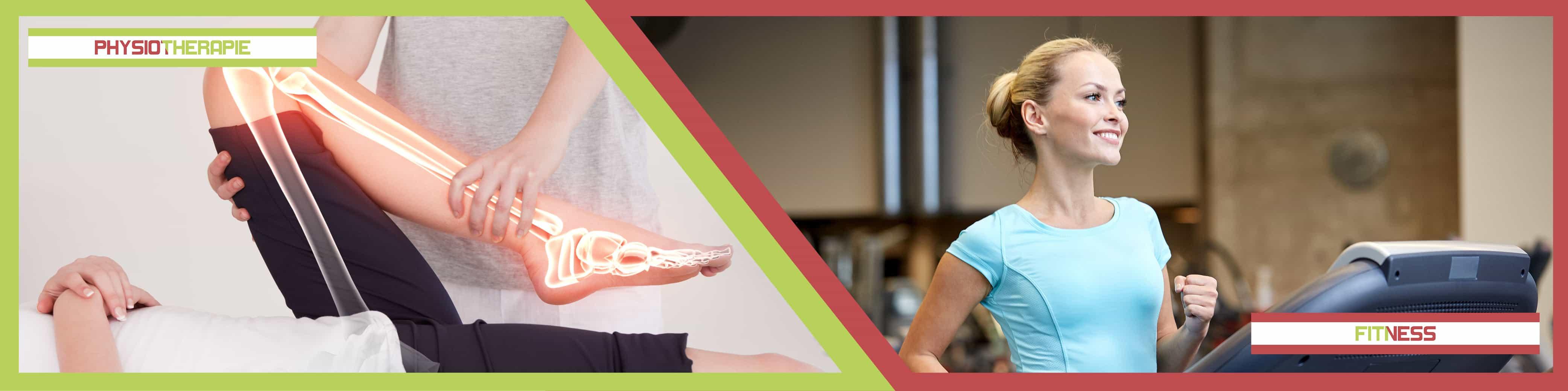 Physiotherapie und Fitnessstudio Startbild